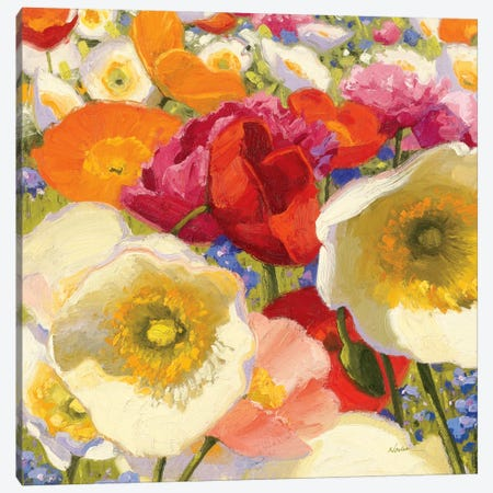 Sunny Abundance II  Canvas Print #WAC1208} by Shirley Novak Art Print