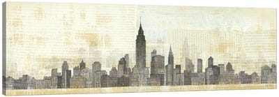 Empire Skyline Canvas Art Print