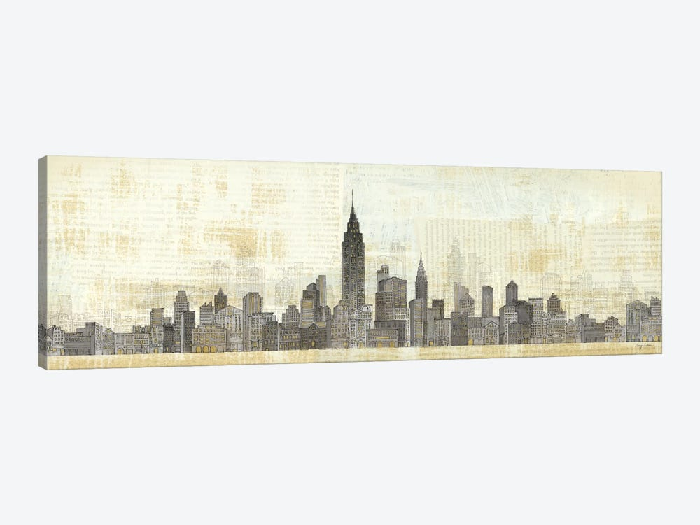 Empire Skyline  by Avery Tillmon 1-piece Canvas Art Print