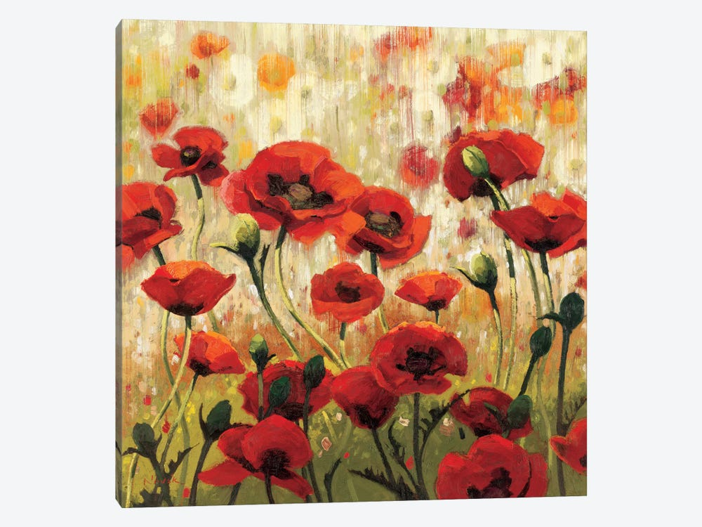 Sunny Spring Glee by Shirley Novak 1-piece Canvas Wall Art