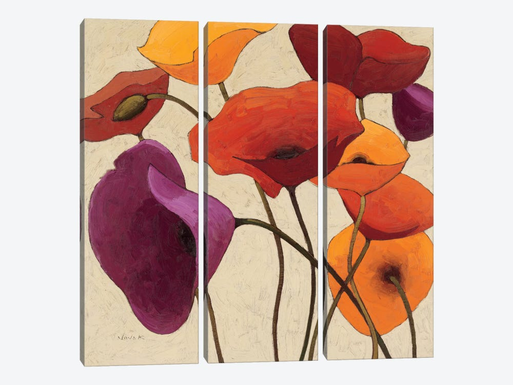 Up One by Shirley Novak 3-piece Canvas Wall Art