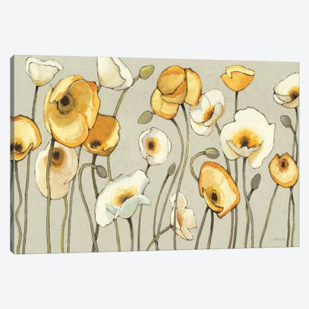 Jaune Gris I  Canvas Print #WAC1221} by Shirley Novak Art Print