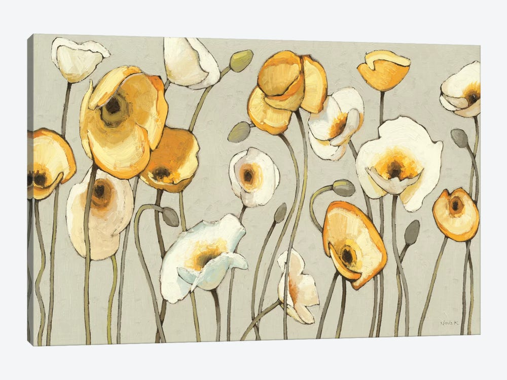 Jaune Gris I  by Shirley Novak 1-piece Canvas Artwork