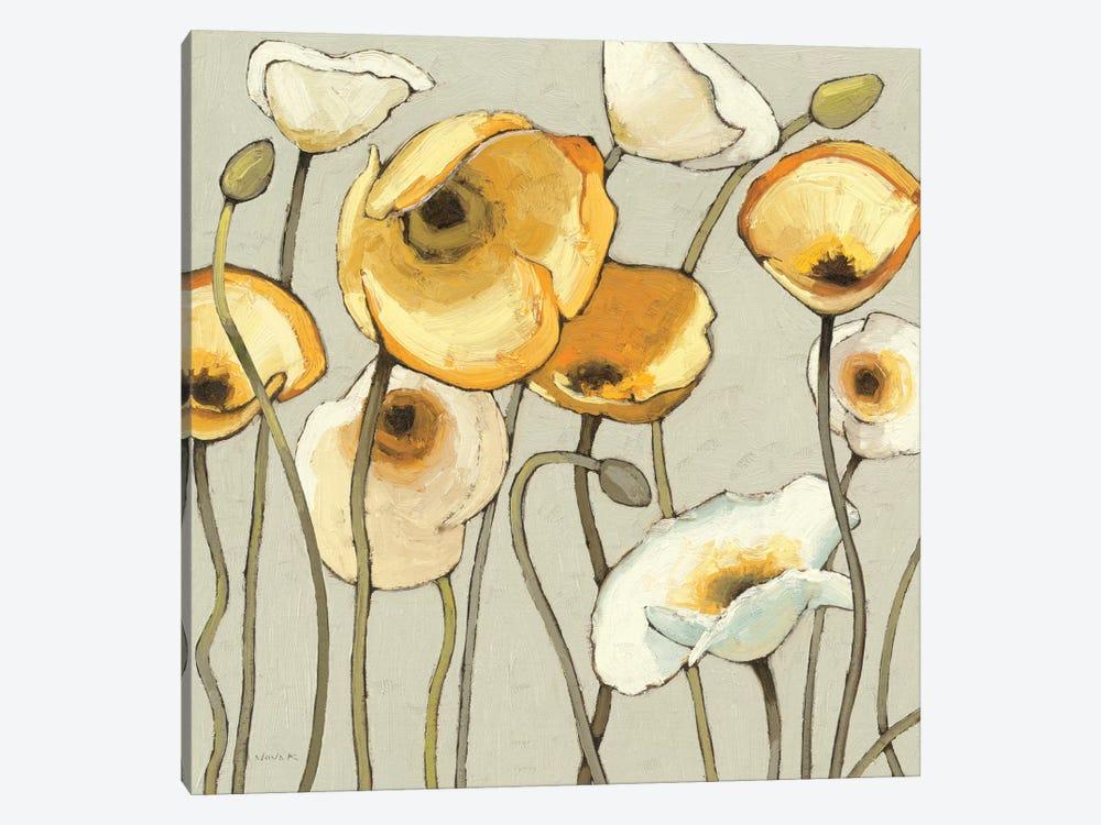 Jaune Gris II  by Shirley Novak 1-piece Canvas Print