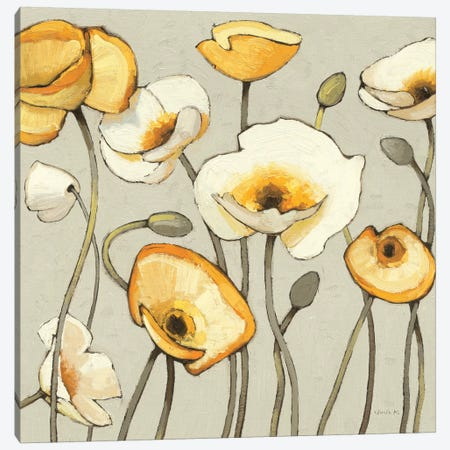 Jaune Gris III  Canvas Print #WAC1223} by Shirley Novak Canvas Print
