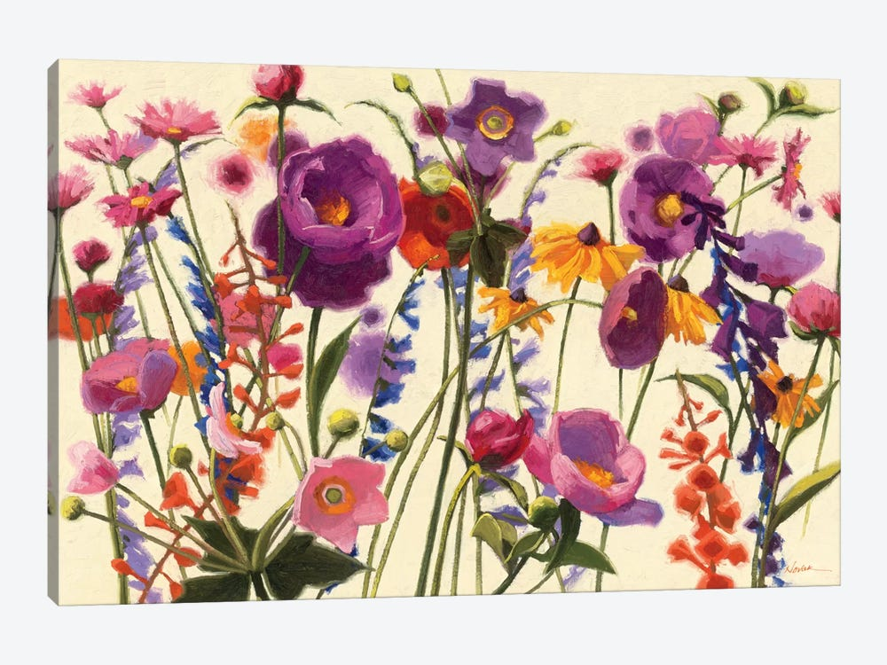 Couleur Printemps I  by Shirley Novak 1-piece Canvas Print