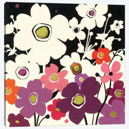 Flower Power II  Canvas Print #WAC1230} by Shirley Novak Canvas Wall Art