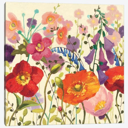 Couleur Printemps III  Canvas Print #WAC1232} by Shirley Novak Canvas Artwork