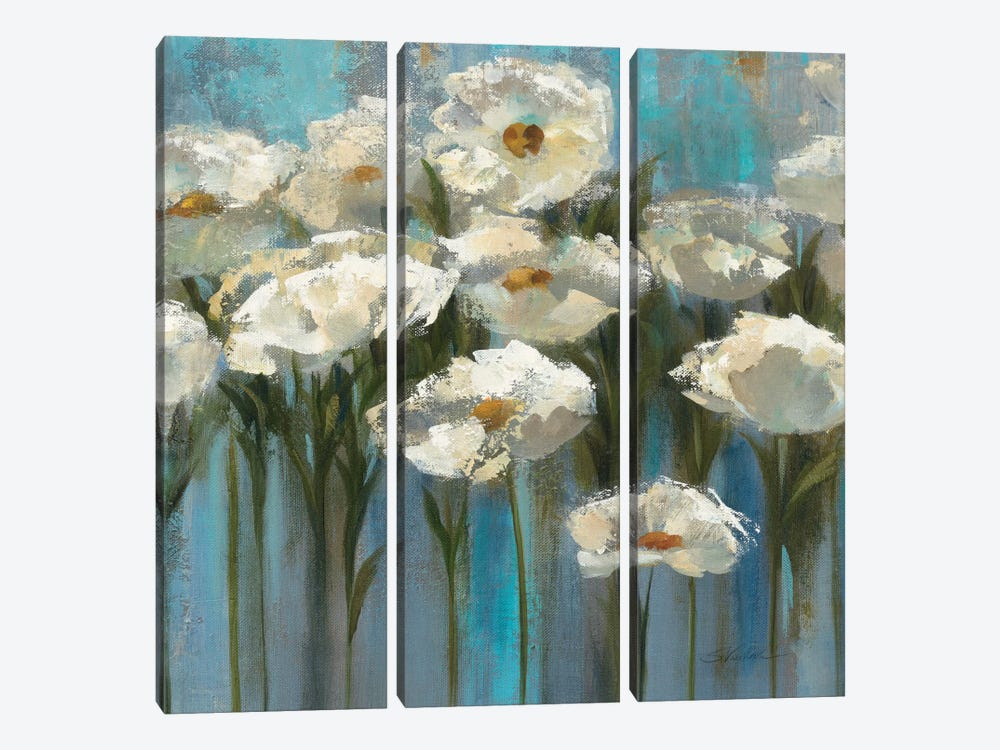 Anemones By The Lake II by Silvia Vassileva 3-piece Canvas Art