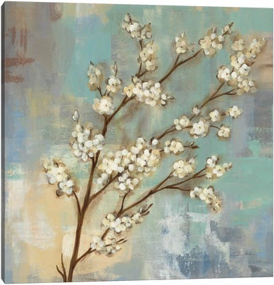 Kyoto Blossoms I Canvas Art Print