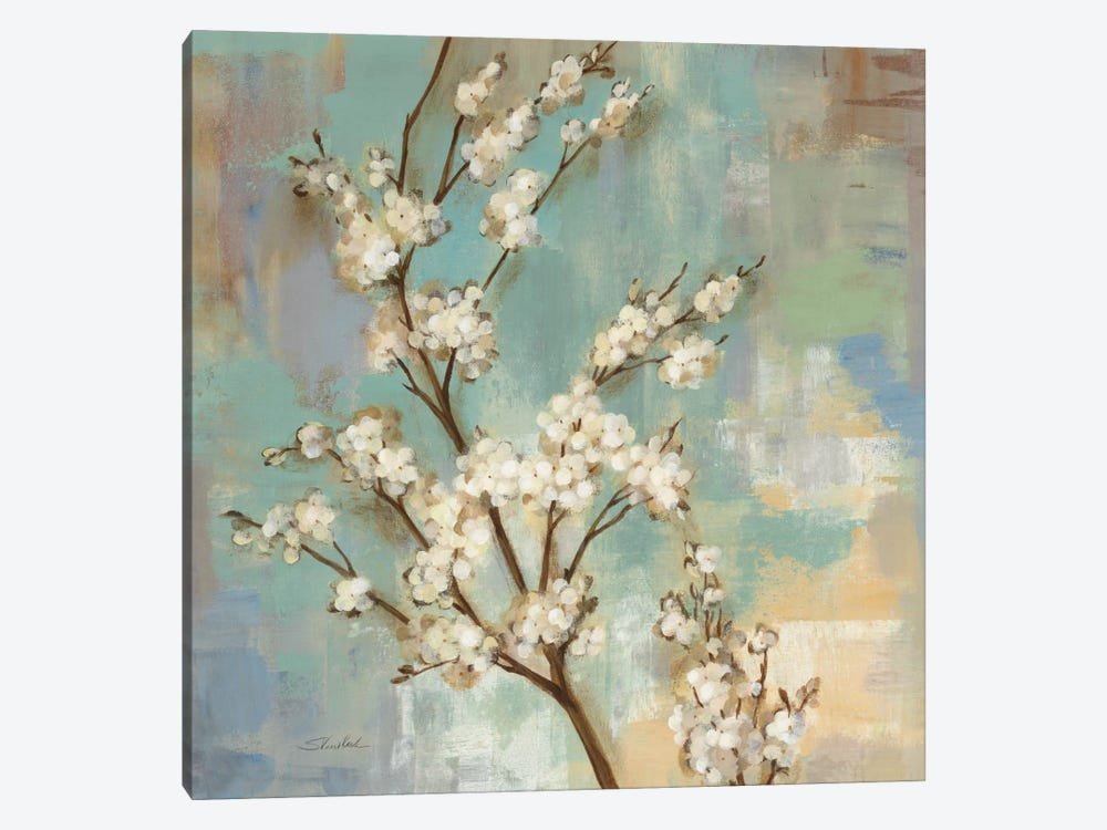 Kyoto Blossoms II by Silvia Vassileva 1-piece Canvas Art