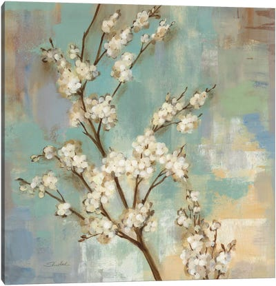 Kyoto Blossoms II Canvas Art Print
