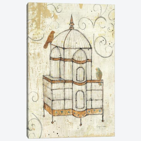 Bird Cage I  Canvas Print #WAC123} by Avery Tillmon Canvas Art Print