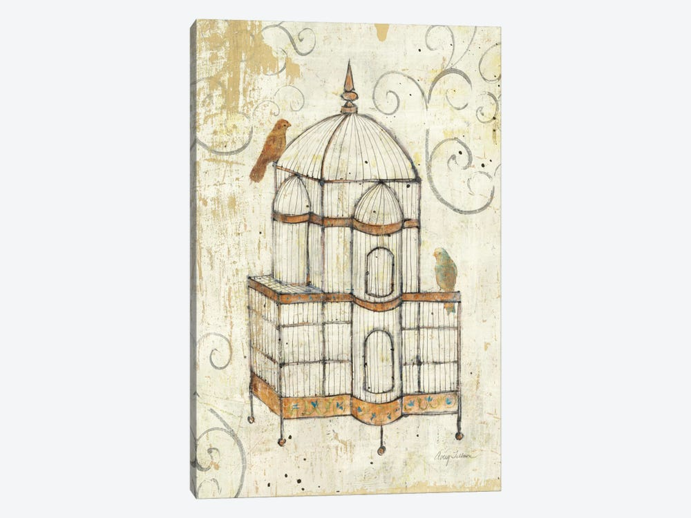 Bird Cage I  1-piece Canvas Wall Art