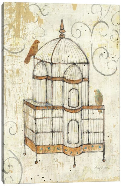 Bird Cage I  Canvas Art Print