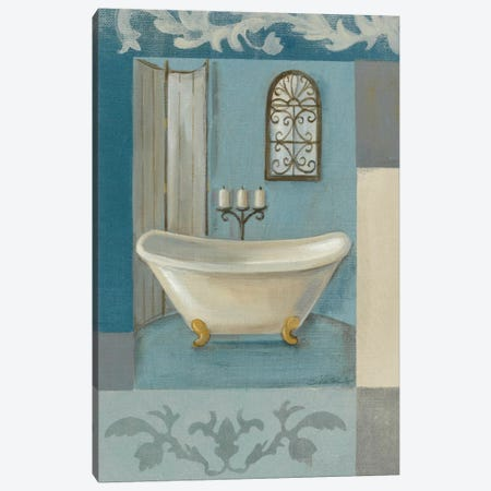 Antique Bath I Canvas Print #WAC1240} by Silvia Vassileva Canvas Print