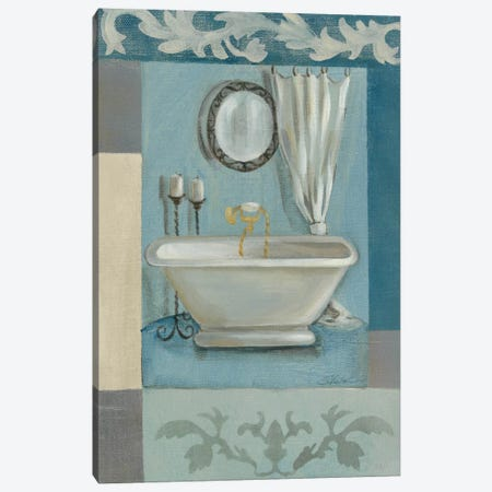 Antique Bath II Canvas Print #WAC1241} by Silvia Vassileva Canvas Art Print