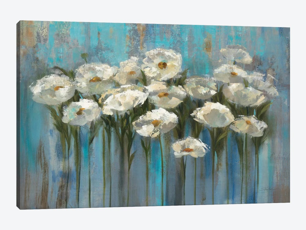 Anemones By The Lake I by Silvia Vassileva 1-piece Art Print