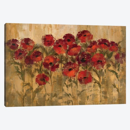 Sunshine Florals  Canvas Print #WAC1248} by Silvia Vassileva Canvas Print