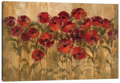 Sunshine Florals  Canvas Art Print