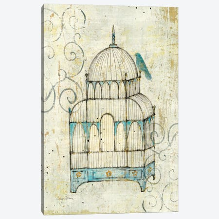 Bird Cage II  Canvas Print #WAC124} by Avery Tillmon Canvas Artwork