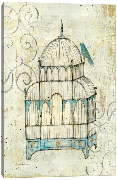 Bird Cage II  Canvas Print #WAC124