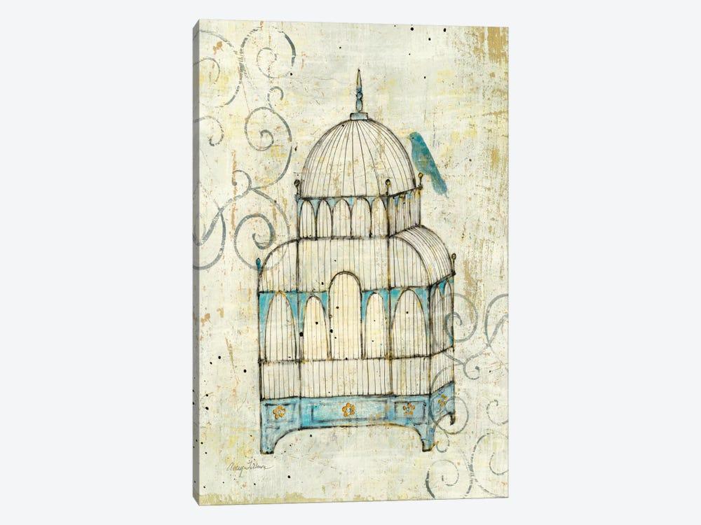 Bird Cage II Canvas Wall Art by Avery Tillmon | iCanvas