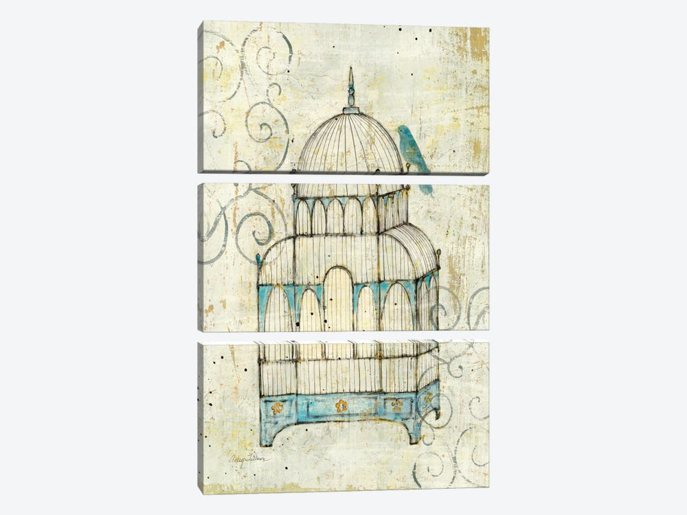 Avery Wall Hanging Birdhouse Lamp : Bird Cage II Canvas Wall Art by Avery Tillmon iCanvas
