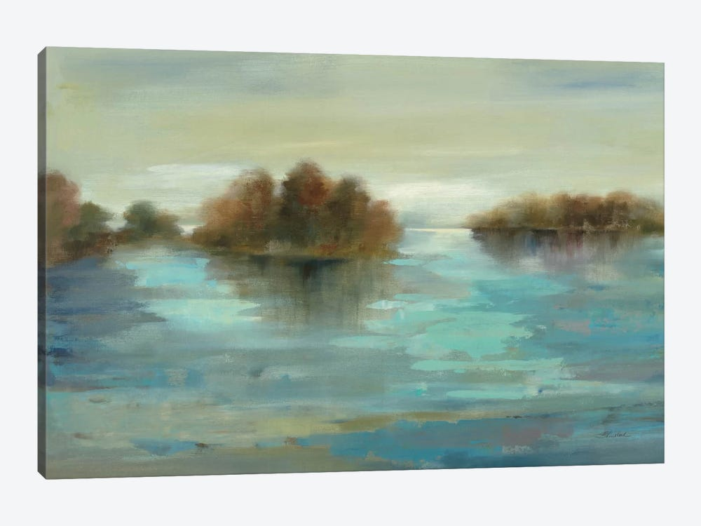 Serenity on the River by Silvia Vassileva 1-piece Art Print