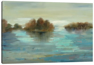 Serenity on the River Canvas Art Print