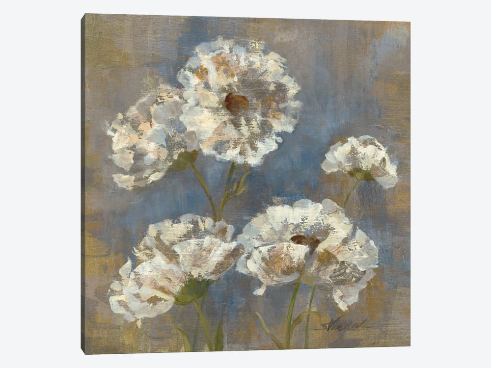 Flowers in Morning Dew I 1-piece Canvas Art