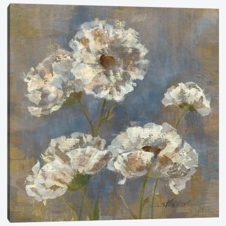 Flowers in Morning Dew I Canvas Print #WAC1263} by Silvia Vassileva Canvas Print