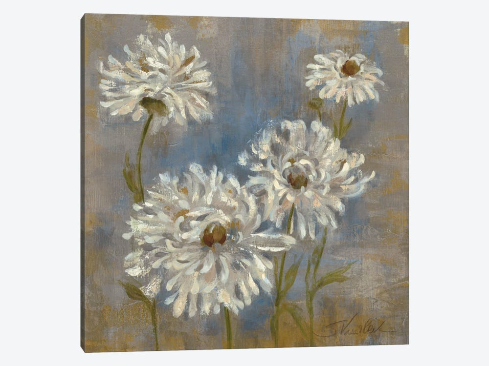 Flowers in Morning Dew II by Silvia Vassileva 1-piece Canvas Print