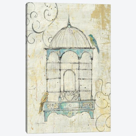 Bird Cage IV  Canvas Print #WAC126} by Avery Tillmon Canvas Art