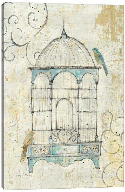 Bird Cage IV  by Avery Tillmon Canvas Art Print
