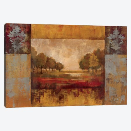 Landscape in Gold Canvas Print #WAC1272} by Silvia Vassileva Canvas Art
