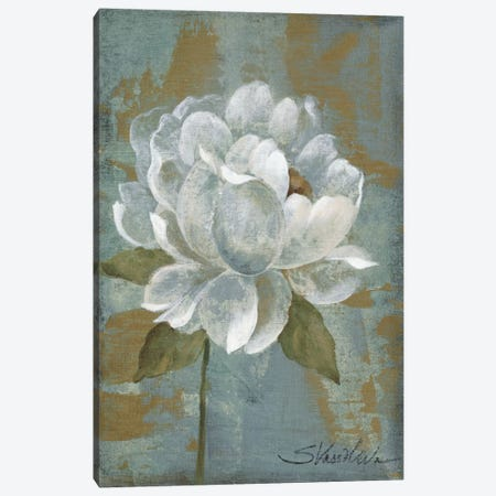 Peony Tile I Canvas Print #WAC1273} by Silvia Vassileva Canvas Artwork