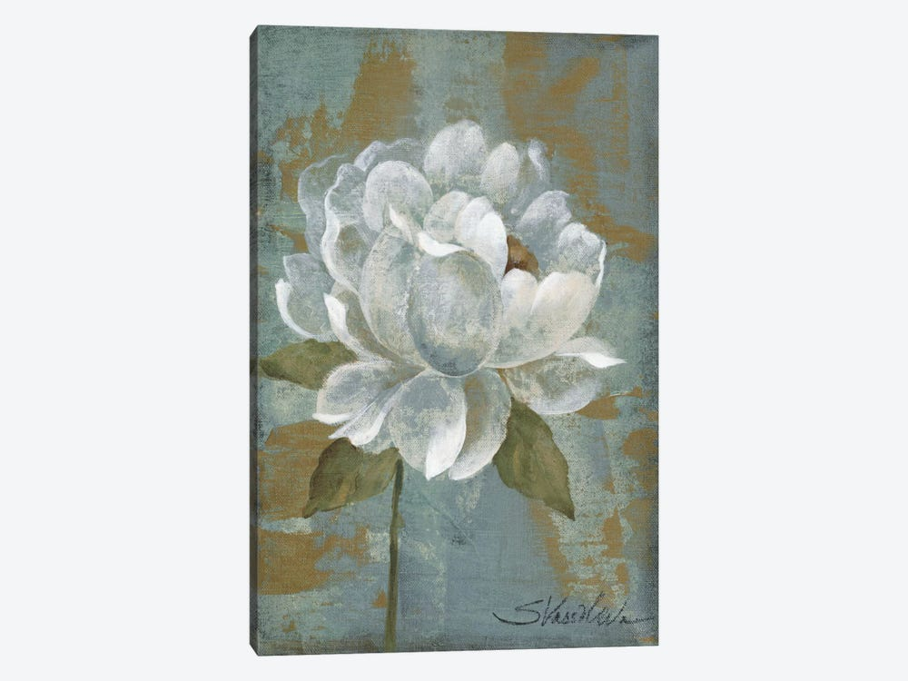 Peony Tile I by Silvia Vassileva 1-piece Canvas Art Print