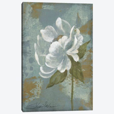 Peony Tile II Canvas Print #WAC1274} by Silvia Vassileva Canvas Art Print