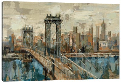 New York View Canvas Art Print