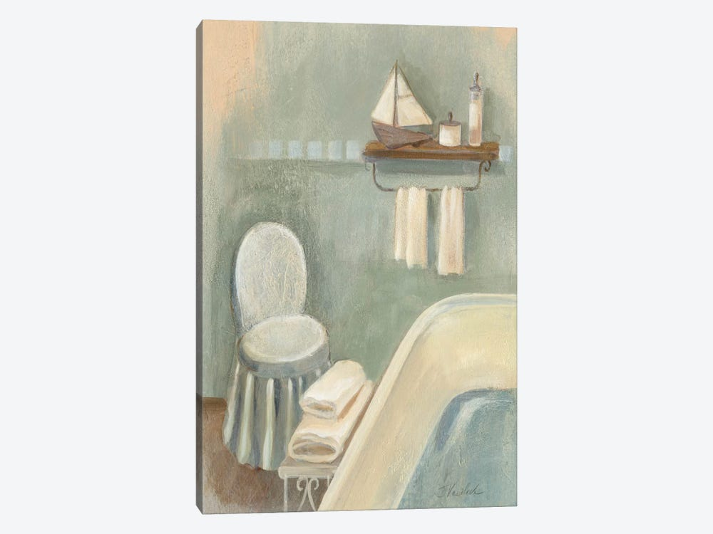 Steam Bath I by Silvia Vassileva 1-piece Canvas Art