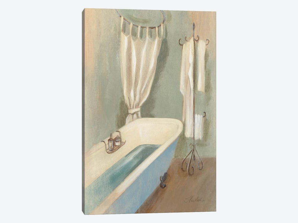 Steam Bath III by Silvia Vassileva 1-piece Canvas Wall Art