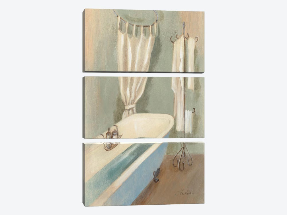 Steam Bath III 3-piece Canvas Artwork