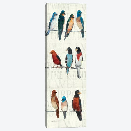 The Usual Suspects Panel I  Canvas Print #WAC129} by Avery Tillmon Canvas Print