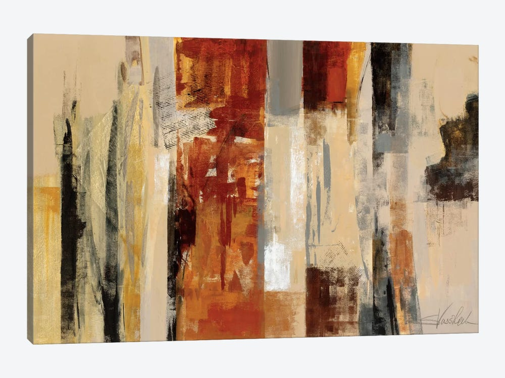 Urban Morning by Silvia Vassileva 1-piece Canvas Art