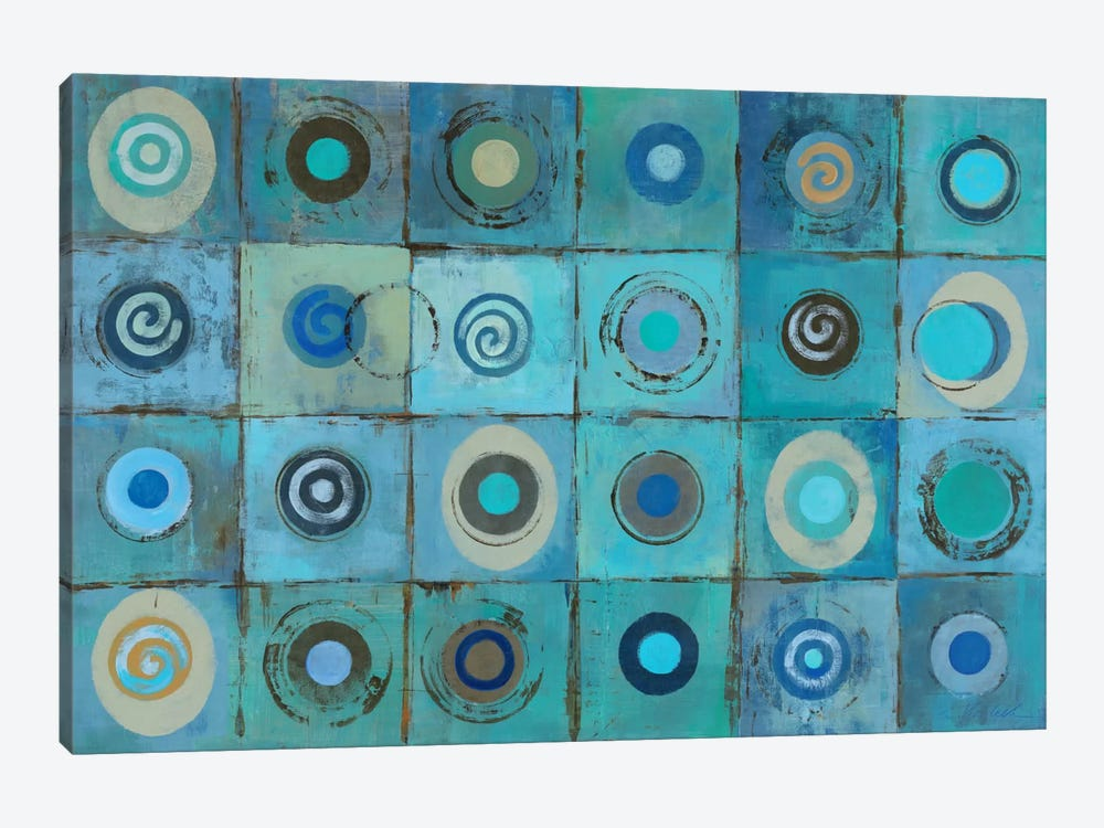 Underwater Mosaic by Silvia Vassileva 1-piece Canvas Print