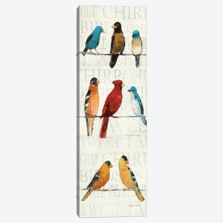The Usual Suspects Panel II  Canvas Print #WAC130} by Avery Tillmon Canvas Artwork