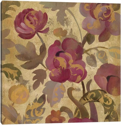 Shimmering Garden II Canvas Print #WAC1312