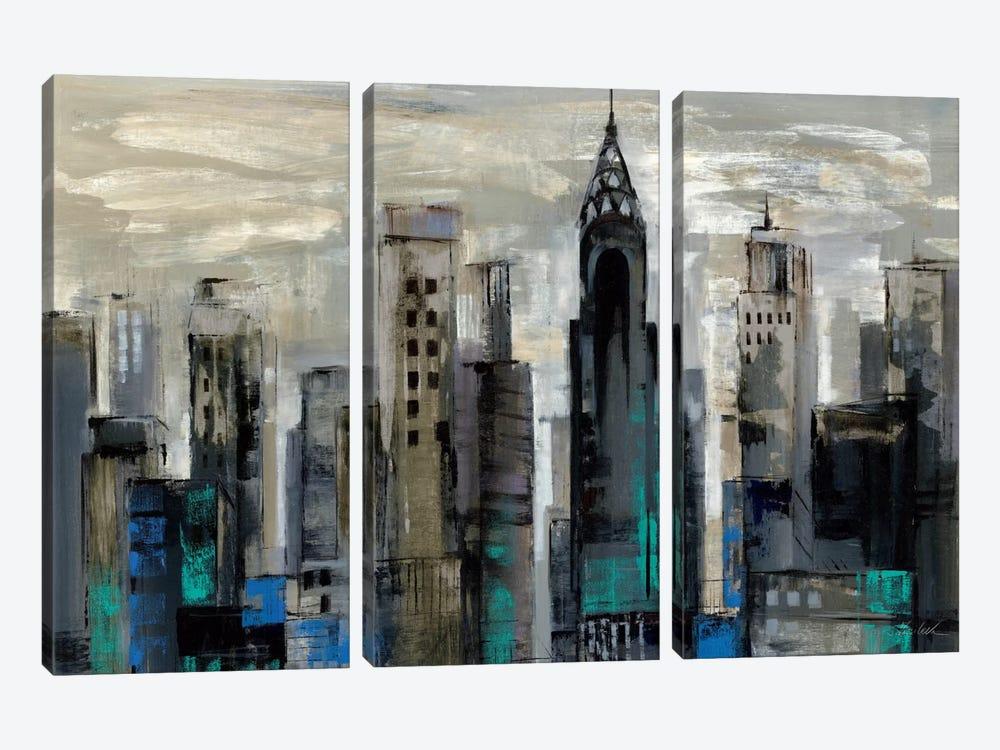 New York Moment  by Silvia Vassileva 3-piece Canvas Artwork