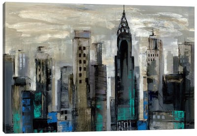New York Moment  by Silvia Vassileva Canvas Art Print